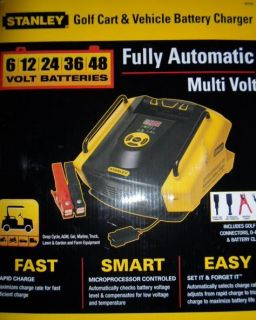 stanley gbcpro golf cart vehicle battery charger
