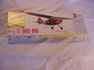 19 Bird Dog US Army Cessna Balsa Wood Model Kit Airplane Plane