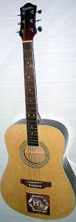 Bachman & Turner Autographed Signed Acoustic Guitar UACC RD COA