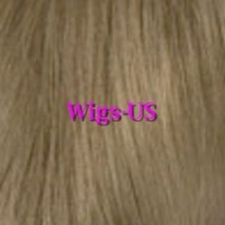 Pale Blonde Browns Black Auburn Extra Long Skin Center Part Wig