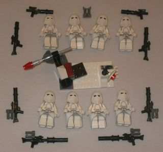 LEGO Custom Battle Pack STAR WARS Rocket SNOWTROOPER 7879 Hoth 7749