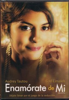 Enamorate de MI DVD New Audrey Tautou Gad Elmaleh Factory SEALED