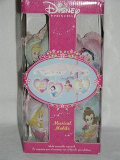 Disney Princess Musical Mobile Belle Aurora Snow White Cinderella