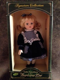 Barbara Lee Porcelain Doll. Petite Porcelain Signature Collection