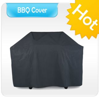 Universal BBQ Cover Garden Portable Barbecue Grill Storage 57 Wide
