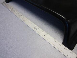 1988 Bayliner Capri Upper Dash Panel Cover Black