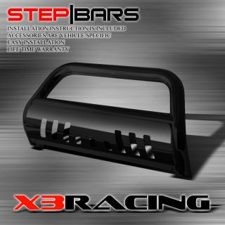 99 04 Nissan Pathfinder Grille Guard Brush Push Bull Bar Black Coated