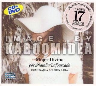 CD + DVD NATALIA LAFOURCADE Mujer Divina Homenaje Agustin Lara Mexican
