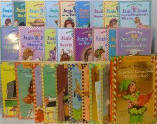 Lot of 27 JUNIE B. JONES Books Barbara Park # 1-12, 14 -27