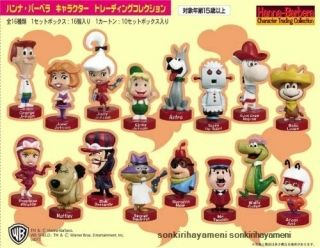 Hanna Barbera Character Trading Figure Collection Complete Set x 16