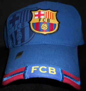 Barcelona Hat Officially Licensed by RHINOX Cap Barca Brand New Blue