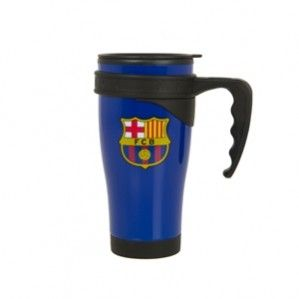 Barcelona Official Travel Plastic Mug Cup Blue Gifts