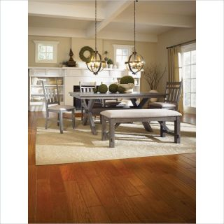 NAUTICAL BEACH HOUSE DINING SET WEATHERED DRIFTWOOD STYLE FURNITURE 6