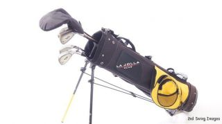 Youth Power Play Golf Complete Set Stand Bag Heights 52 56 I