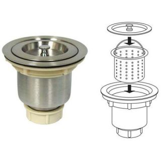 Stainless Steel Kitchen Bar Sink Strainer Drain Basket