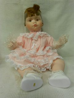DANBURY MINT Adorable Babies ANDREA Porcelain Doll Artist Susan Wakeen