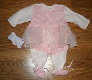halloween baby girl ballerina costume 0 3 months new