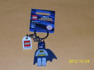 LEGO BATMAN superheroes keychain NWT minifigure figure men toy marvel