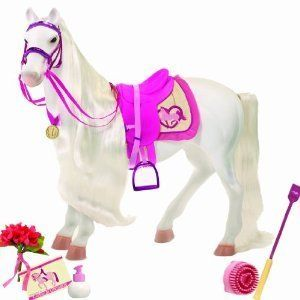 for American girl/ Battat/ Our Generation doll size HORSE New