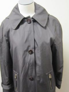 Andrew Marc New York Becky Raincoat Jacket M Brown $198
