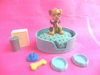 Dog Bed Accessories 4 Monster High Frankie Stein Pet Watzit OOAK