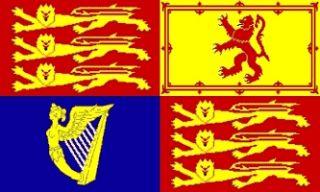 x5 UK Royal Standard Flag Great Britain Banner 3x5