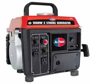 APG3004 1000 Watt 2 Cycle Gas Powered Portable Generator