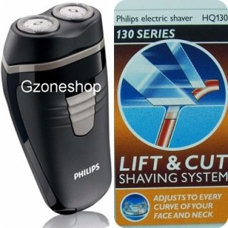 HQ130 Mens Electric Battery Operated Hair Beard Shaver Trimmer