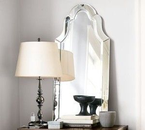 Gorgeous Luxe Large Curved Frameless Arch Wall Mirror Tall Venetian