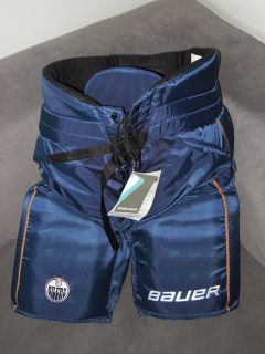 Bauer Supreme EDMONTON OILERS NHL Pro Stock Return Hockey Pants MEDIUM