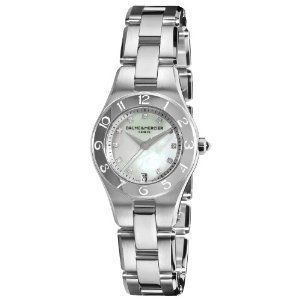 Baume & Mercier Womens MOA10011 Linea Mother of Pearl Diamond Dial