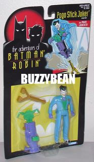 The Joker Pogo Stick Action Figure Batman Villain Mint