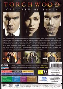 TORCHWOOD CHILDREN OF THE EARTH Sci fi BBC Doctor Who spin off DVD 2