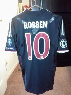Bayern Munich Robben Spielertrikot Matchworn Shirt Maglia Trikot