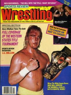 Barry Windham Sports Review Wrestling Magazine Oct 1987 Bam Bam