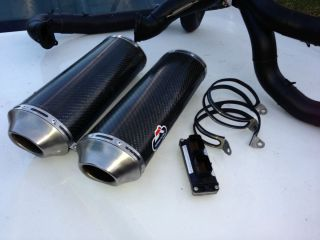 Ducati 1098R Bayliss Termignoni Carbon Fiber Full Exhaust System