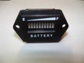 Golf Cart LED 36 Volt Battery Charge Meter 0861