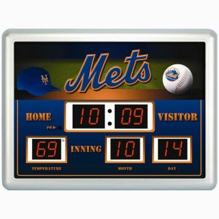 New York Mets MLB Baseball Scoreboard Digital Wall Clock w