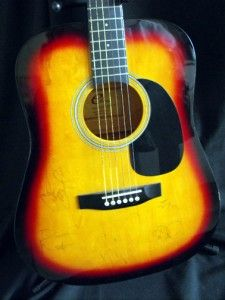 dave matthews band signed guitar search