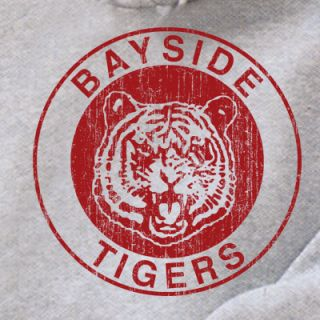 Bayside Tigers Hoodie Shirt T ATH Grey Bieber Say Never