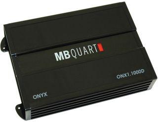 New MB Quart ONX11000D 1000W Class D Mono Car Audio Amplifier Amp ONX1