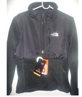North Face Denali Jacket Black Fleece Womens Medium