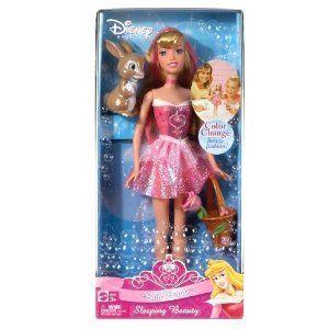 Disney Princess Bath Beauty Sleeping Beauty Doll Aurora