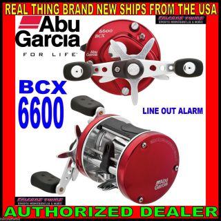BCX 6600 6600BCX ABU GARCIA AMBASSADEUR ROUND REEL FISHING BAITCAST