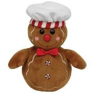 Ty Goody The Gingerbread Man Beanie Baby Mint with Mint Tags