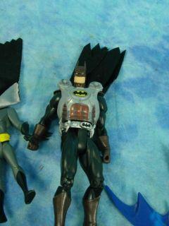 Super Hero Villain Action Figures & Toy Vehicles Lot BATMAN Wolverine