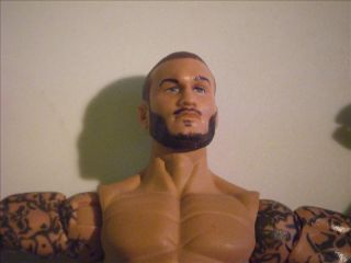 Randy Orton with Beard Custom WWE Mattel Elite Figure