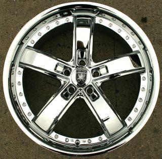 Von Max VM07 20 Chrome Rims Wheels Honda Accord 03 Up 20 x 8 5 5H 38