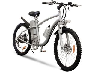 Lithium Battery Electric Bicycle 26 Mountain Motor Bike 6 SPD
