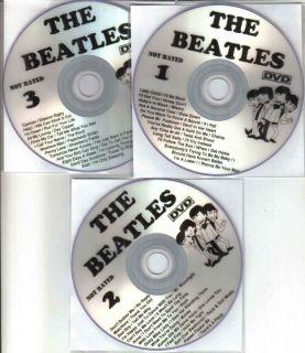 The Beatles Complete TV Cartoon Series DVD 3 Disc Set